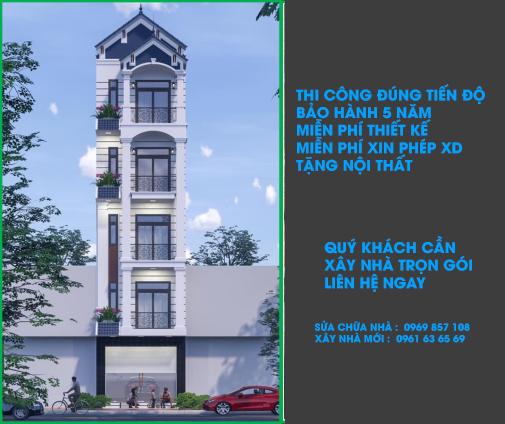 Công ty xây nhà trọn gói uy tín hàng đầu TPHCM