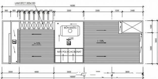 bản vẽ nhà 2 tầng P7