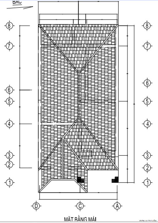 bản vẽ nhà 2 tầng P3