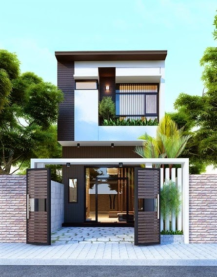 Tư vấn xây dựng nhà 2 tầng diện tích 4x15m | Công ty xây dựng Nhà ...